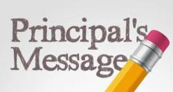 Principal's Message April 3, 2020